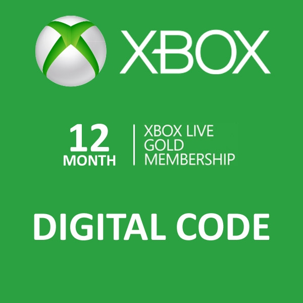 no more lines store 12 month xbox live gold membership. Black Bedroom Furniture Sets. Home Design Ideas