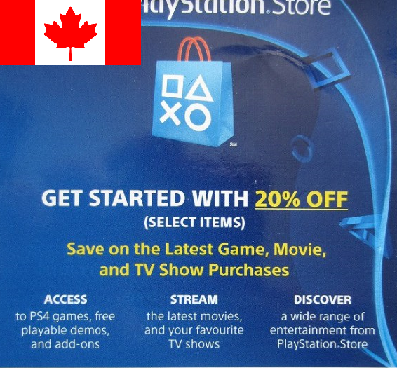 Coupons for playstation 4 store